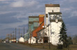 Image of Grain Elevators in Rural Albert, Canada