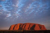 Image of Ayers Rock at Sunset