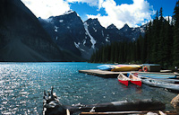 Image of a Canadian Mountain lake